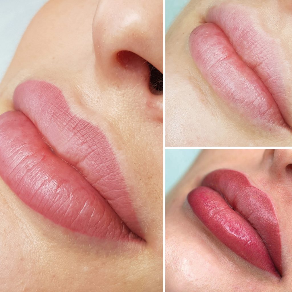 maquillage permanent lèvres shading lips